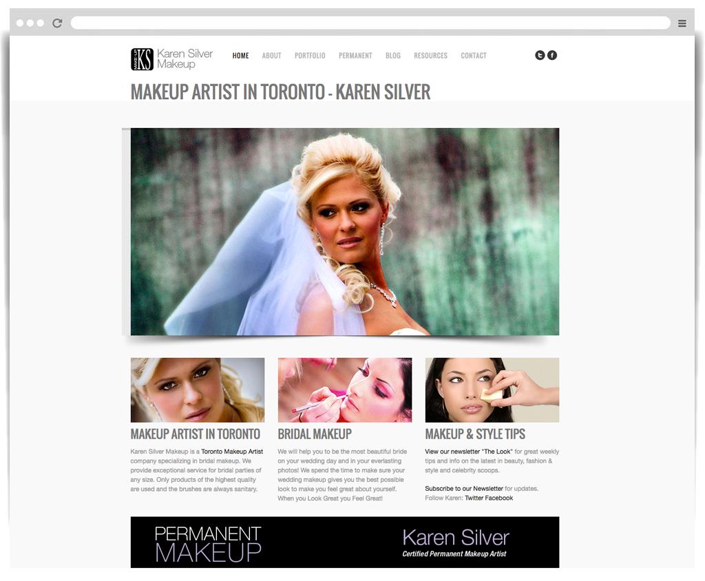 Karen Silver Makeup