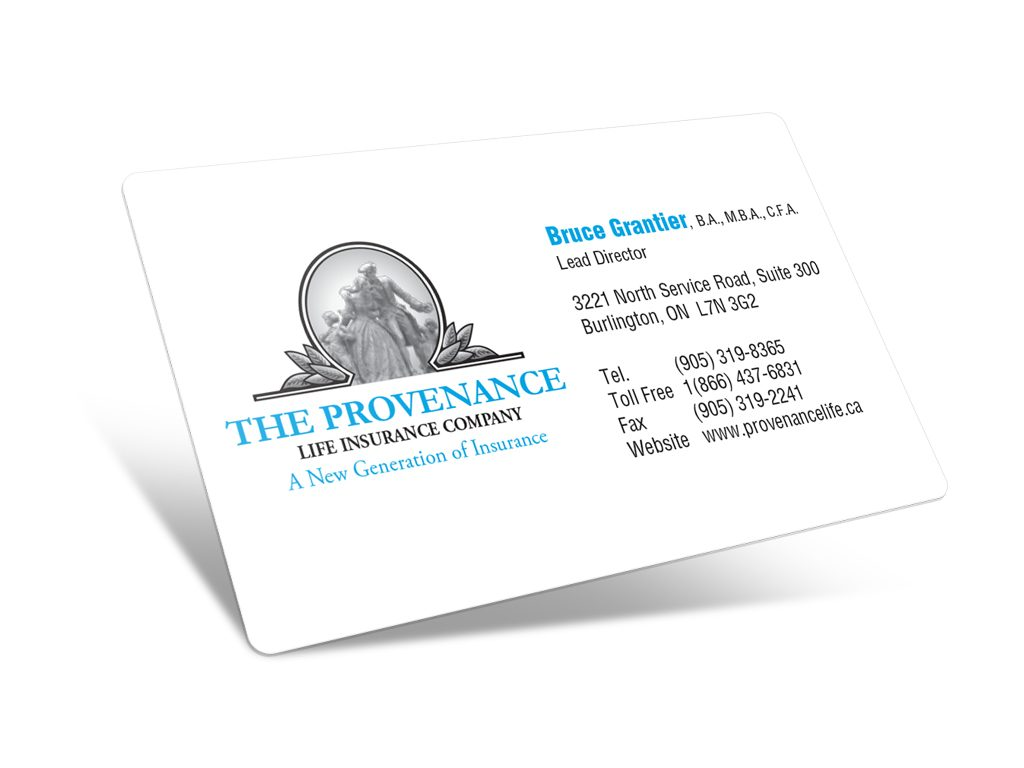 Provenance Life Business Cards