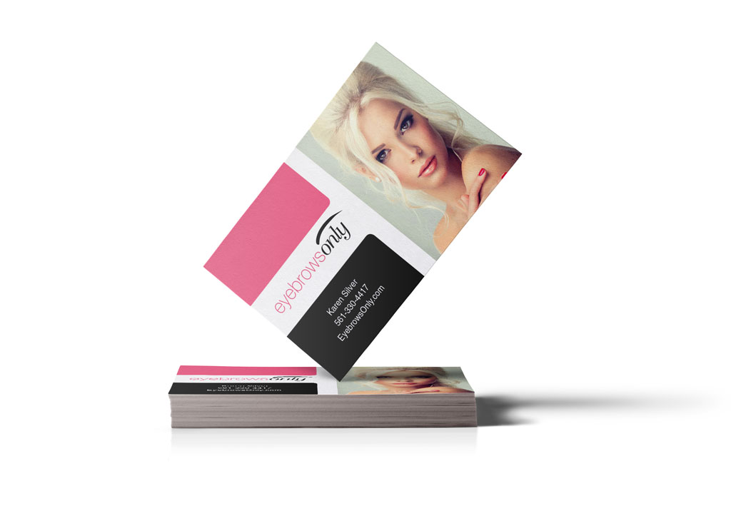 EyebrowsOnly Business Card