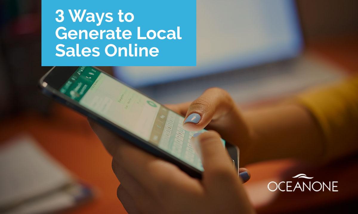 Generate Local Sales Online